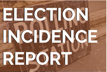 Election Incidence Report